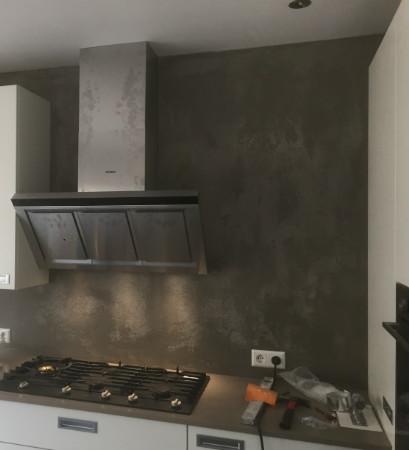 stukadoor noldus afbouw beton Cire grijs